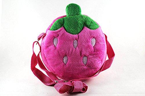 Baby Mini Cartoon Backpack Portable Schoolbag Toy (Pink) - 4