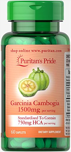 Puritan's Pride Garcinia Cambogia 750 mg-60 Caplets