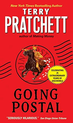 Going Postal (Discworld Book 33) cover