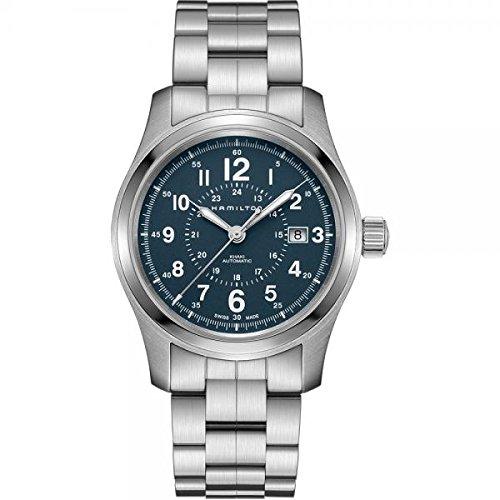 Hamilton Khaki Field Auto H70605943 Blue / Blue Nylon Analog Automatic Men's Watch