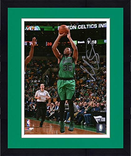 (Framed Marcus Smart Boston Celtics Autographed 8