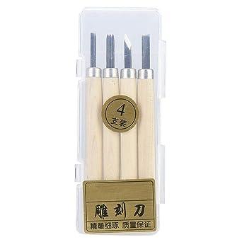 Herramientas de tallado en madera Kit de cuchillos ...
