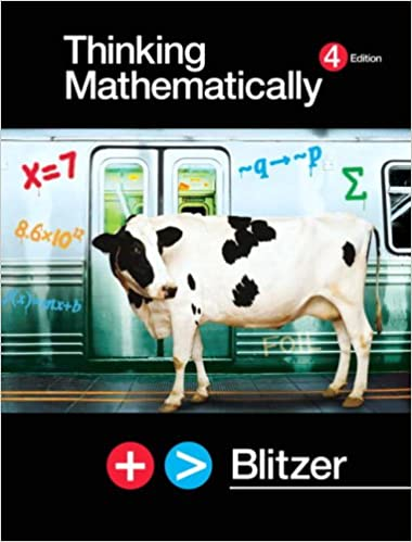 Thinking mathematically robert f blitzer 9780131752047 amazon thinking mathematically 4th edition fandeluxe Choice Image