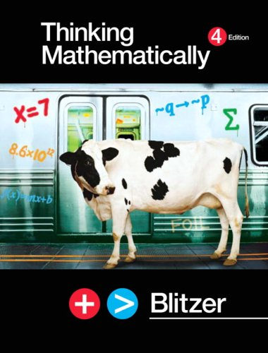 Thinking Mathematically Value Package (includes MathXL 12-month Student Access Kit)