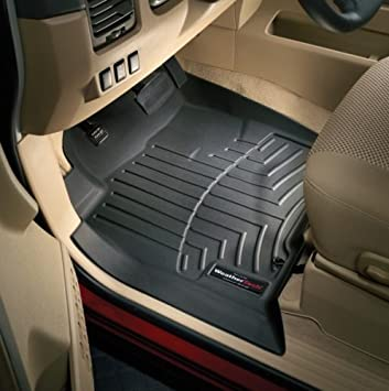 WeatherTech Custom Fit Front FloorLiner for Ford Ranger Grey