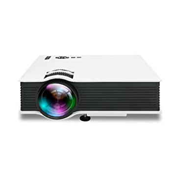 QSBY HD Home Theater proyector LED hogar Pico Pico proyector LCD ...