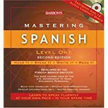 Mastering Spanish, Level One with Audio CDs