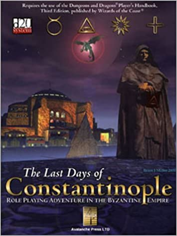 Cover of The Last Days of Constantinople