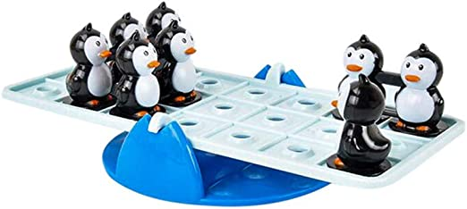 Makkalen Seesaw Juego de pingüino equilibrado para Escritorio ...