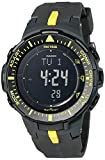 Casio Men's PRG-300-1A9CR Pro Trek Triple Sensor Tough Solar Digital Display Quartz Black Watch