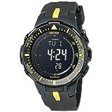 Casio Men's PRG300 Triple Sensor Pro Trek Black Watch