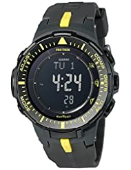 Casio Men's PRG300 Triple Sensor Pro Trek Black Watch