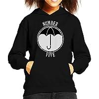 Cloud City 7 Umbrella Academy Number Five Kid's Hooded Sweatshirt