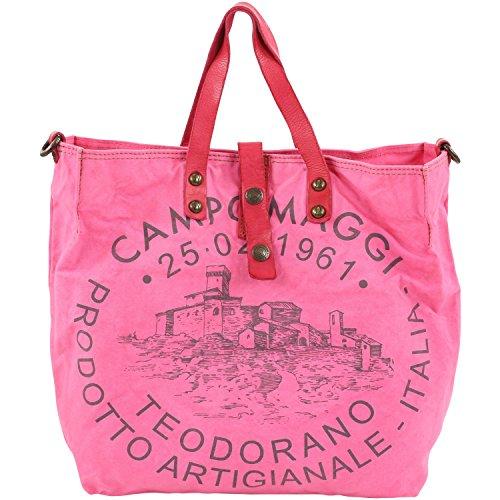 Campomaggi, Poschette giorno donna Rosa rosa 35, 0