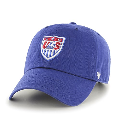 World Cup Soccer United States Clean Up Adjustable Hat, One Size, Royal