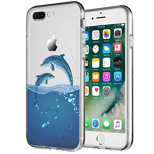 MTT Designer Printed Transparent Back Case Cover for - Dolphin Phone Accessories