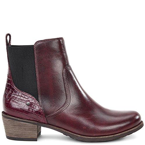 Ugg® Australia Keller Croco Femme Boots Bordeaux