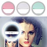 36 LED Ring Light Up Selfie Luminous Phone For iPhone/Samsung/Mobile