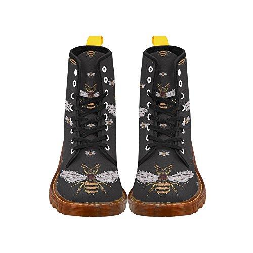 D-histoire Chaussures Mode Lace Up Martin Bottes Pour Femmes Multi23