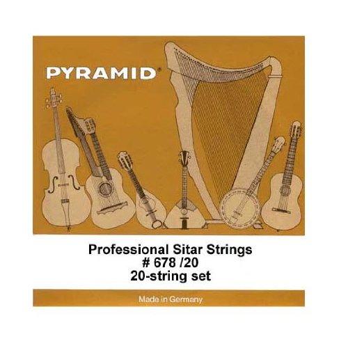 PYRAMID Sitar String Set by Pyramid, 7-String STSY