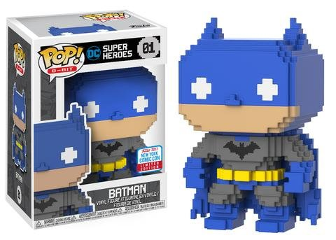 Funko Pop! 8-Bit #01 DC Heroes Batman
