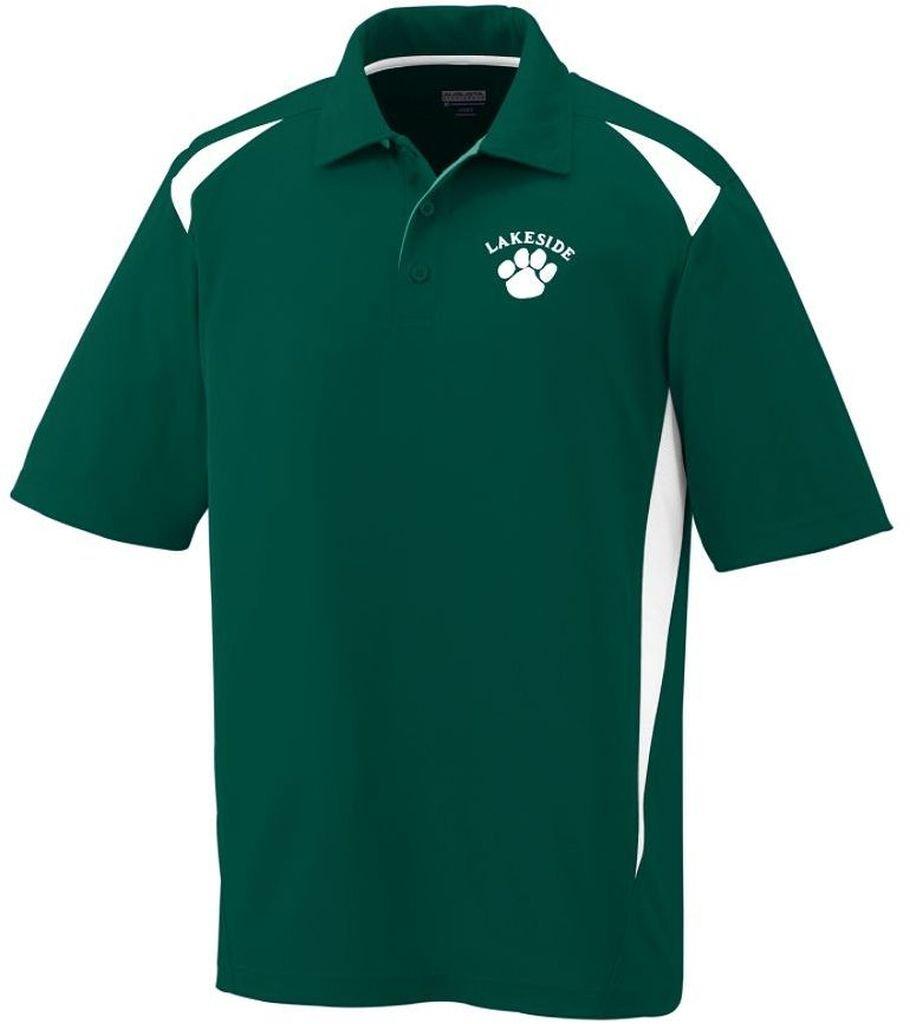 Augusta Sportswear 100% Polyester Short Sleeve Premier Polo Augusta Sportswear Holdings Inc 5012-P