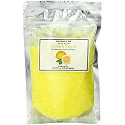 Jansal Valley All Natural Flavor Infused Cane Sugar, Lemon, 6 Ounce