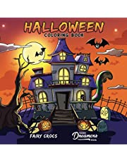 Halloween Coloring Book: For Kids Ages 4-8, 9-12