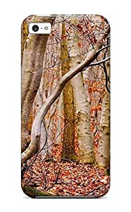 Hot PRlxNHb6278lIrNj Case Cover Protector For Iphone 5c- Forest Earth Nature Forest