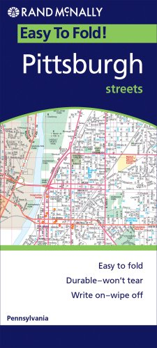 Easy Finder Pittsburgh: Local Street Detail (Rand McNally Easyfinder)
