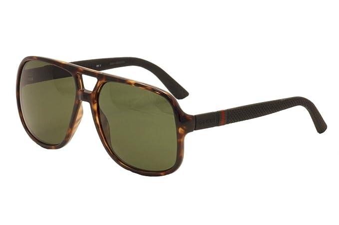 75796d56c7a13 Image Unavailable. Image not available for. Colour  Gucci Men s GG 1115S  Havana Black