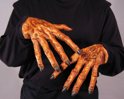 Halloween Gloves - Latex Monster Hands