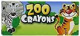 12 Boxes of Crayons Zoo Animal Box 4 Per Box