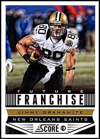 30b68b64b 2013 Panini Score Future Franchise  318 Jimmy Graham NM-MT RC New Orleans  Saints