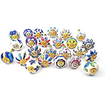 Mexican Talavera Moon And Sun Design High Gloss Ceramic