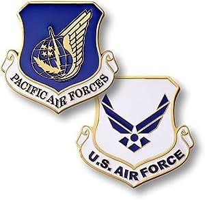 Pacific Air Forces Enamel