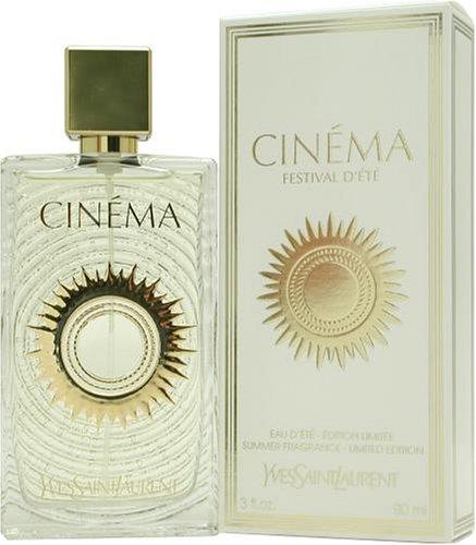 Cinema summer by yves saint laurent for women eau de toilette spray 3 ounces