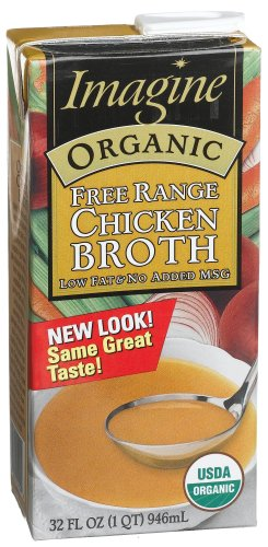 Imagine Free Range Chicken Broth, Organic, 32 oz