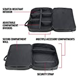 USA Gear Video Projector Case, Large Carry Case for