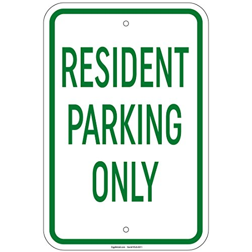 (Resident Parking Only Sign 8