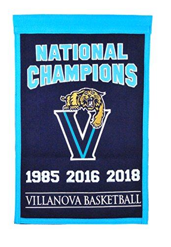 Ncaa National Championship Banner - Winning Streak NCAA Villanova Wildcats 2018 NCAA Championship Champs Banner