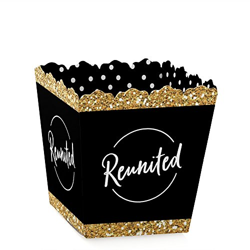 Reunited - Party Mini Favor Boxes - School Class Reunion Party Treat Candy Boxes - Set of 12]()