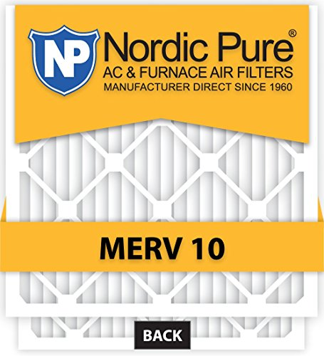 Pure 20x20x4 MERV 10 Pleated AC Furnace Air Filter, Box of 1 [並行輸入品]