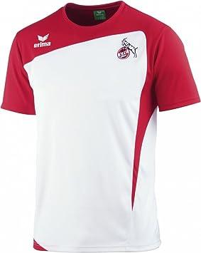 FC Köln - Camiseta de fútbol, todo el año, unisex, color blanco - blanco/rojo, tamaño 6: Amazon.es: Deportes y aire libre