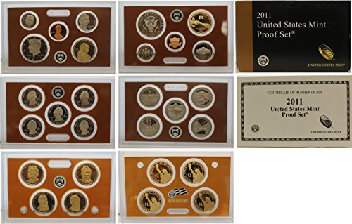 2011 S Proof set Collection Uncirculated US Mint