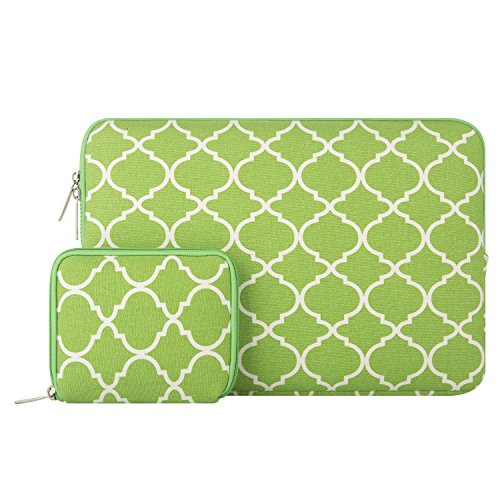 Mosiso Quatrefoil 13 13 3 Notebook Greenery