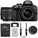 Nikon D3400 24.2MP DSLR Camera with AF-P 18-55mm VR Lens Kit (Certified Refurbished)
