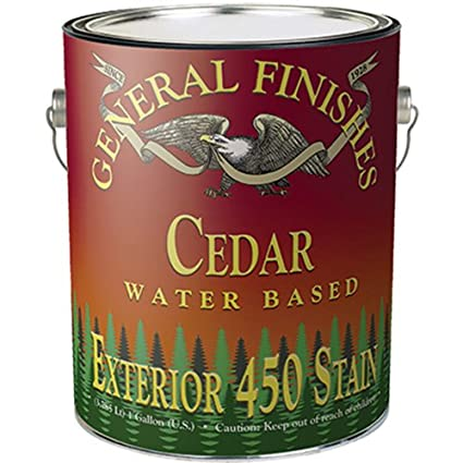 General Finishes Water Based Exterior 450 Stain Coffee Bean Gallon on plumbing finishes, outdoor finishes, nichiha finishes, house paint finishes, industrial finishes, roof finishes,