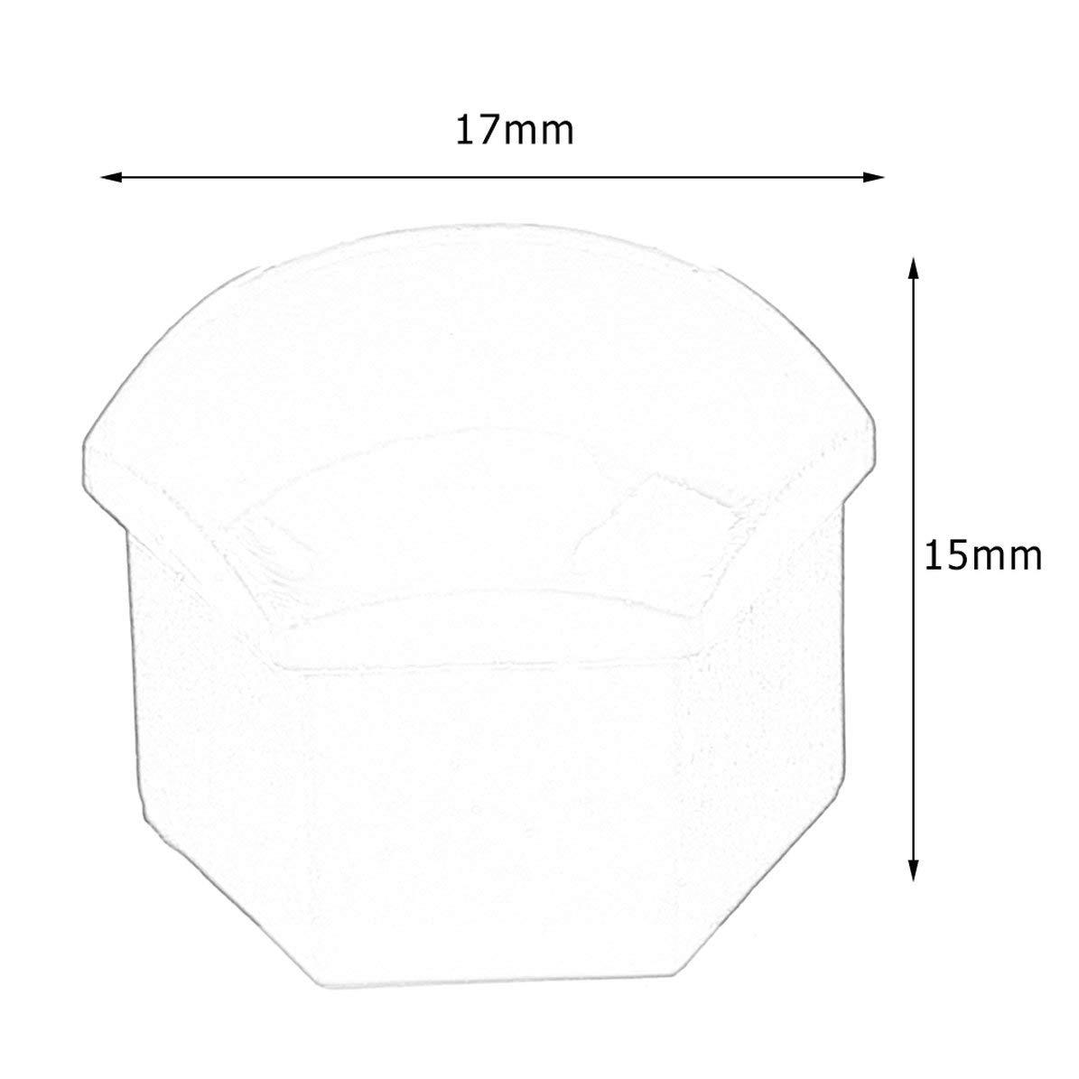 Corneliaa-IT 20PCS 17mm Special Socket Car Wheel Mozzo Auto Coperchio a vite Protezione esterna