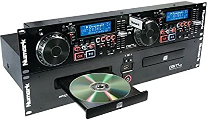 Amazon.com: Numark CDN77USB | Professional Dual USB and MP3 CD Player for  Professional DJ Use With Performance-Driven Feature Set, CD / MP3CD Support  and D3 Tag & Folder Recognition: Musical Instruments